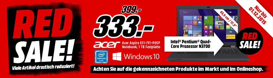 Bild zu Media Markt Red Sale, z.B. 5 Zoll Navigationsgerät TomTom Go 510 für 145€ (Vergleich 183,94€)