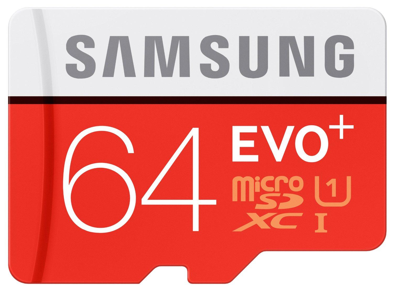 Bild zu 64 GB microSDXC Speicherkarte Samsung Evo Plus UHS-I Grade 1 Class 10 für 14,99€
