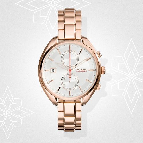 Bild zu Christ: 40% Rabatt auf ausgewählte Uhren und Schmuck von Fossil