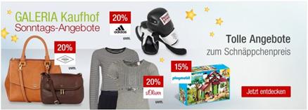 Bild zu Galeria Kaufhof Sonntags-Angebote, z.B. 20% Rabatt auf alle 3D Puzzle + 10% Newsletter-Rabatt