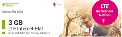 Bild zu [nur 150mal] 1GB (LTE) Telekom-Datenflat für 4,99€, 3GB für 6,99€ oder 6GB für 9,99€ inklusive 25€ Amazon Gutschein