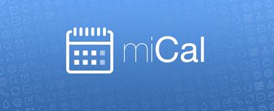 Bild zu [iTunes Appventskalender] miCal – der Kalender für Termine und Erinnerungen für 0,99€