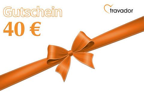 Bild zu 40€ Travador Gutschein für nur 4€