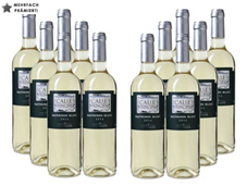Bild zu Weinvorteil: 12 Flaschen Bodegas Vinedos Contralto – Calle Principal Sauvignon Blanc für 39,96€