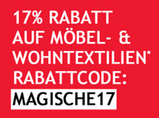 Bild zu Neckermann: 17% Rabatt auf Möbel und Wohnaccessoires (ab 100€ MBW) + kostenlose Lieferung