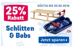 """Bild zu Toys""""R""""Us: 25% Rabatt auf Schlitten & Bobs"""