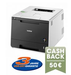 Bild zu Brother HL-L8250CDN Farblaserdrucker (A4 Drucker, Netzwerk, Duplex, Apple AirPrint, Google Cloud Print) für 149,90€ + 50€ Cashback
