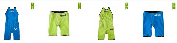 Bild zu arena Schwimmanzug/Schwimmhose Carbon für Damen und Herren für je 54,99€