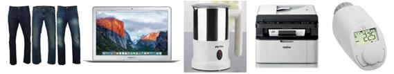 Bild zu Die eBay WOW Angebote in der Übersicht, z.B. Apple MacBook Air 13″ Notebook (MJVE2D/A) für 879€
