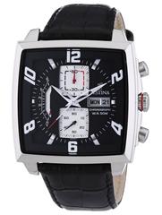 Bild zu Preisfehler: Festina Herren-Armbanduhr Chronograph Quarz Leder F6826/1 für 23,74€