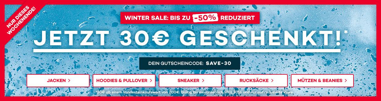Bild zu Planet Sports: Winter Sale mit bis zu 50% Rabatt + 15€ oder 30€ Rabatt (120€/180€ MBW)
