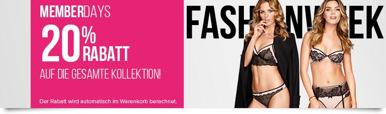 Bild zu Hunkemöller: 20% Rabatt auf die Fashionweek Kollektion