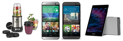 Bild zu Die Allyouneed.com Tagesangebote, z.B. HTC One M8 (16GB) oder M9 (32GB) ab 295€