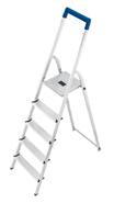 Bild zu Hailo L20 EasyClix Aluminium-Sicherheits-Haushaltsleiter 5 stufig für 39,90€