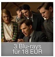 Bild zu Amazon: 3 Blu-rays für 18€ oder 6 Blu-rays für 31€