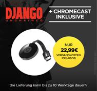 Bild zu Google Chromecast 2 + Django Unchained für 22,99€