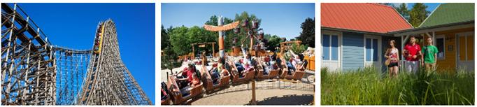 Bild zu Heide Park Soltau + Holiday Camp (Übernachtung) für 65€
