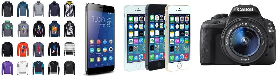 Bild zu Die eBay WOW Angebote in der Übersicht, z.B. Smartphone Huawei Honor 6 Plus (32 GB) für 239,90€