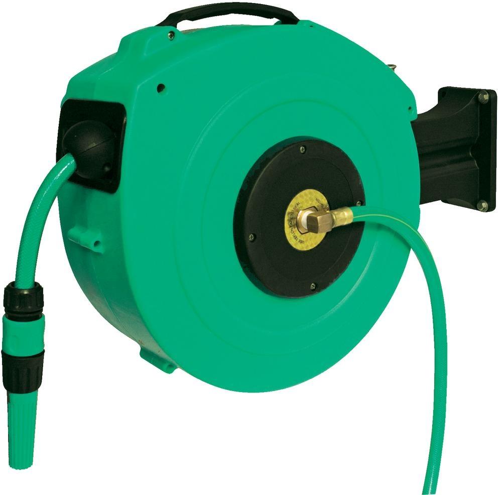 Bild zu AS-Schwabe Automatik-Wasserschlauch-Trommel mit 20m Wasserschlauch für 59,89€