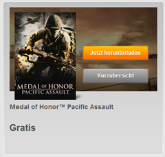 Bild zu [PC Spiel] Medal of Honor™ Pacific Assault gratis bei Origin
