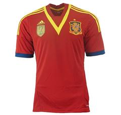 Bild zu adidas Spanien Fußballtrikot in S oder XXL für je 7,99€ inklusive Versand