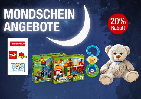 Bild zu Galeria Kaufhof Mondschein Angebote: 20% Rabatt auf ausgewählte Spielwaren