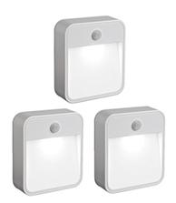 Bild zu [Preisfehler?] Mr Beams batteriebetriebenes LED-Nachtlicht mit Bewegungssensor weiß MB723 (3-er Pack) für 12,97€