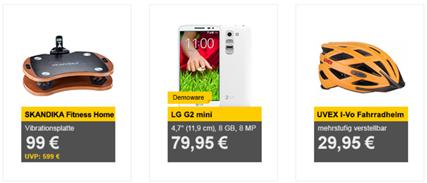Bild zu Die Allyouneed.com Tagesangebote, z.B. [Demoware] LG G2 Mini für 79,95€