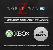 Bild zu wuaki.tv: 50€ Xbox-Live Guthaben + World War Z für 35,99€