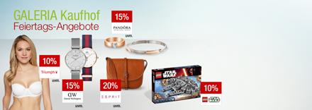 Bild zu Galeria Kaufhof Feiertagsangebote, z.B. 20% Rabatt auf die Marke Nachtmann und SCHOTT ZWIESEL