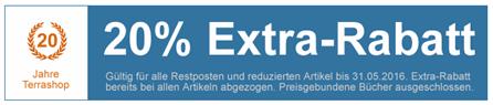 Bild zu Terrashop: 20% Extra-Rabatt auf Restposten