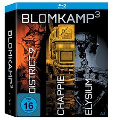 Bild zu 3er Box: Chappie / District 9 / Elysium [Blu-ray] für 12,57€