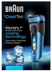 Bild zu Braun CoolTec CT4s Wet & Dry Elektrorasierer für 69,95€