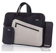 Bild zu Canbor Notebooktasche (wasserabweisend) + kleine Tasche + Mauspad für 19,99€