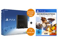 Bild zu Sony Playstation 4 inklusive dem Spiel Overwatch (Origins Edition) für 329€