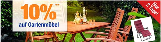 Bild zu Plus.de: 10% Rabatt auf Gartenmöbel