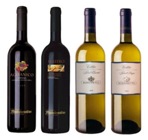 Bild zu 6 Flaschen italienischer Gourmet Weiss- oder Rotwein für je 14,99€