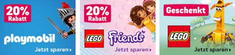 """Bild zu Toys""""R""""Us: Verschiedene Rabatt-Aktionen, z.B. 20% Rabatt auf alle Playmobil Artikel ab 30€"""