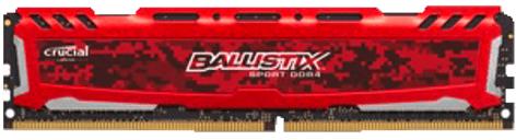 Bild zu 8 GB DDR4 Arbeitsspeicher Crucial Ballistix Sport LT für 27€
