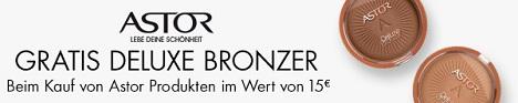 Bild zu Amazon: Kostenloser Deluxe Bronzer beim Kauf von Astor Produkten im Wert von 15€