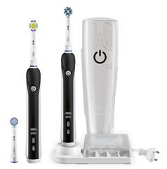 Bild zu Braun Oral-B Pro 4900 Elektrische Zahnbürste mit 2 Handstücken und Reiseetui (schwarz) ab 67,41€ (sonst über 100€)