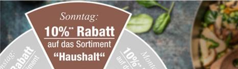 """Bild zu Plus.de: 10% Rabatt auf die Kategorie """"Haushalt"""""""