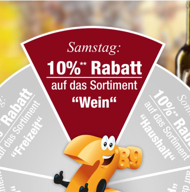 """Bild zu Plus.de: 10% Rabatt auf die Kategorie """"Wein"""""""