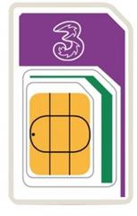 Bild zu 3 PAYG Prepaid Karte (voraufgeladen mit 12GB Datenvolumen für 42 Länder) ab 26,11€