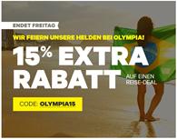 Bild zu Groupon: 15% Rabatt auf Reise-Deals