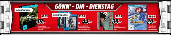 """Bild zu Media Markt """"Gönn dir Dienstag"""", z.B. Breaking Bad – Die komplette Serie [Blu-ray] für 49€"""