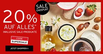 Bild zu The Body Shop: 20% Rabatt auf (fast) alles (auch auf Sale)