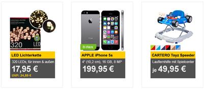 Bild zu Die Allyouneed.com Tagesangebote, z.B. [B-Ware] Apple iPhone 5s für 199,95€