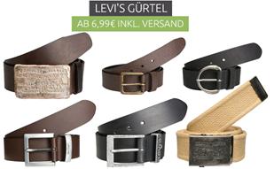 Bild zu Levis Gürtel ab bereits 6,99€ inklusive Versand