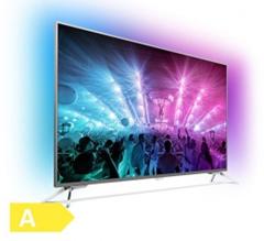 Bild zu Philips 55PUS7101 (55 Zoll) Ultraflacher Android 4K-Fernseher für 999€ (Vergleich 1029€) + 249,75€ Rakuten Guthaben als Cashback
